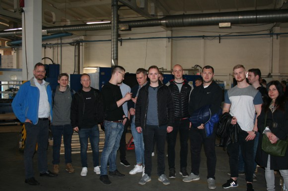 Students' visit from Denmark 04.04.2017